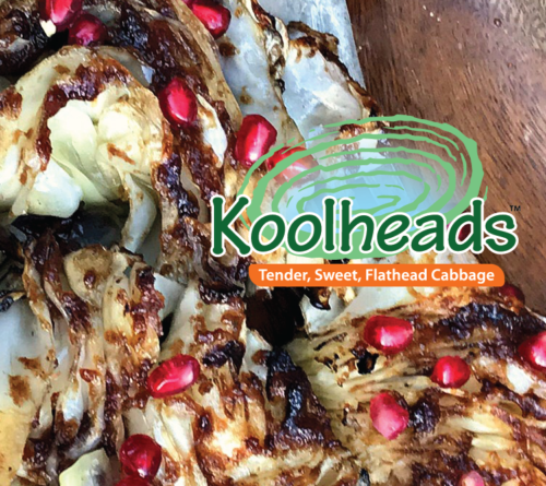 Koolhead Grilled Cabbage with Cranberry Glaze